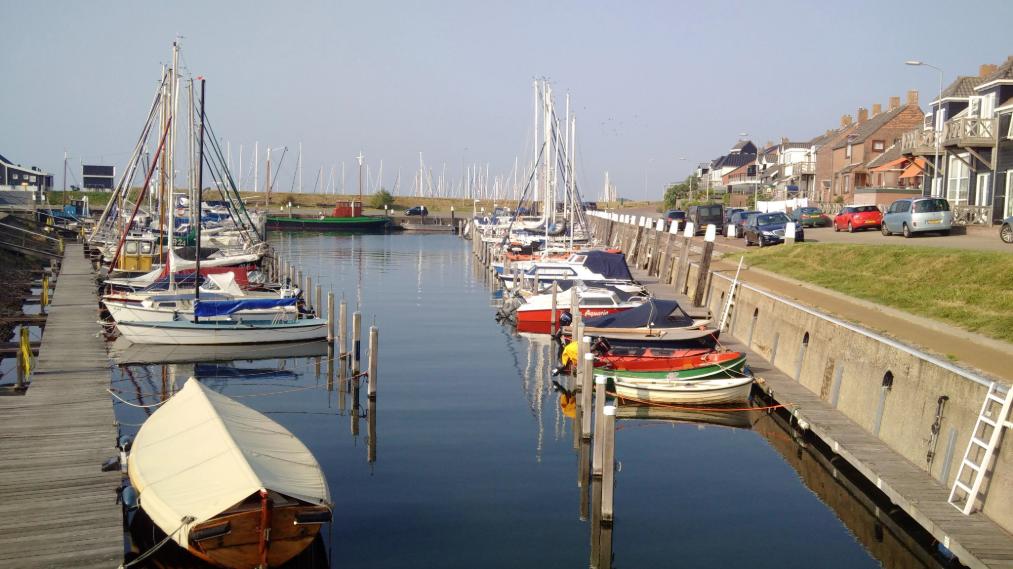 Der Hafen von Ouddorp die Niederlande
