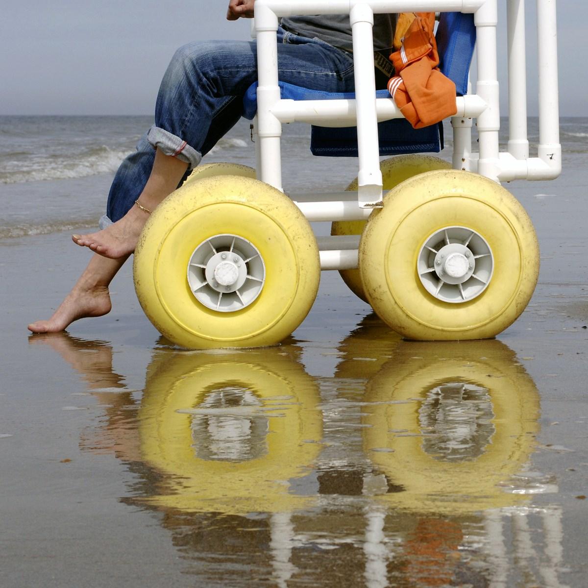 Strand Rollstuhle