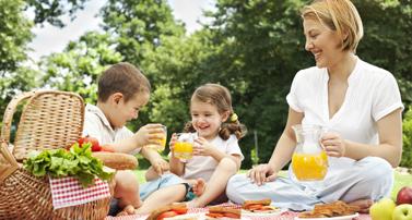 picknick goedkope zomervakantie